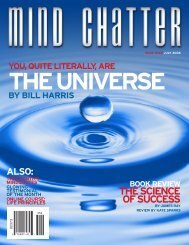 Mind Chatter #162 (July, 2006) (PDF) - Centerpoint Research Institute