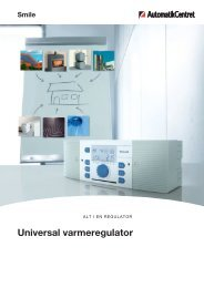 Universal regulator SDC - brochure over
