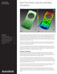 Real-Time Plastic Injection Molding Simulation - EMA Design ...