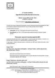 Programma - Urban Center - Comune di Genova