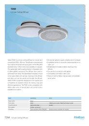 Circular Ceiling Diffuser - Halton