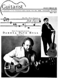Cu - Minnesota Guitar Society
