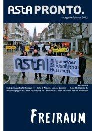 Freiraum. - AStA der Europa-Universität Viadrina