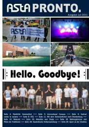 Hello, Goodbye! - AStA der Europa-Universität Viadrina