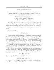 Volume 10, 2006 23 SHORT COMMUNICATIONS DIRICHLET ...