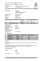 GUTACHTEN zur ABE Nr. 46926 nach §22 StVZO Anlage 5 zum ...