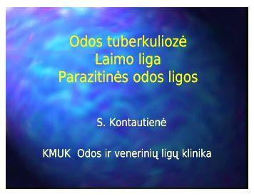 Odos tuberkulioze, Laimo liga, parazitines odos ligos.ppt ...