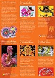 PDF-Flyer zum Chinesischen Neujahr - Buchheim Museum der ...