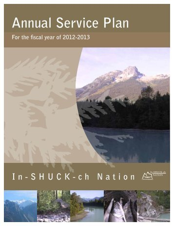 Annual Service Plan 2012-2013 - In-SHUCK-ch Nation