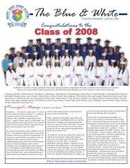 The Blue & White - Mount Saint Agnes Academy