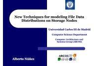 Obtaining File System Distribution - Web de ARCOS - Universidad ...