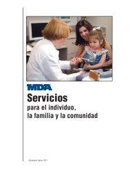 MDA Servicios para el individuo, la familia y - Muscular Dystrophy ...