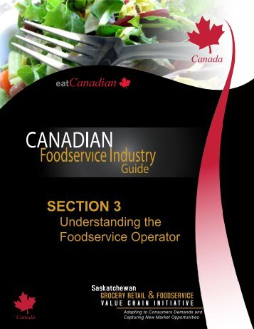 SECTION 3 - Saskatchewan Grocery Retail and Foodservice Value ...