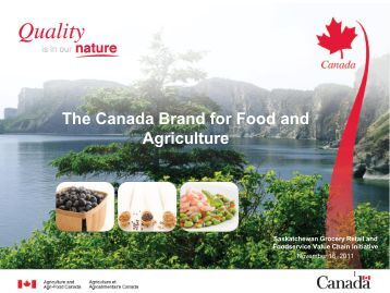 ACS Canada Brand Presentation - Saskatchewan Grocery Retail ...