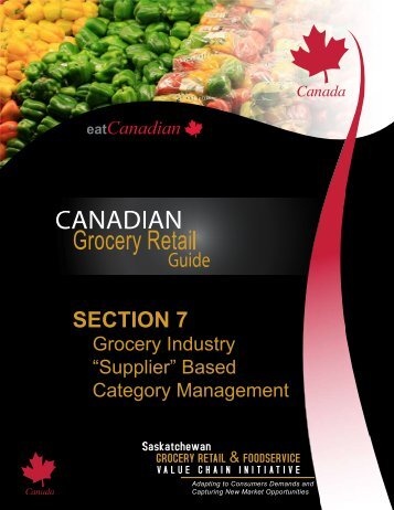 SECTION 7 - Saskatchewan Grocery Retail and Foodservice Value ...