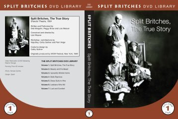 Split Britches DVD Collection