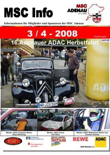 16.Adenauer ADAC Herbstfahrt - MSC Adenau e. V.