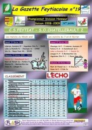 La Gazette Feytiacoise n°19 - Footeo