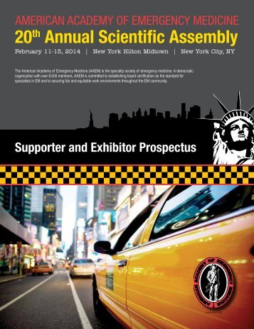 20th Annual Scientific Assembly - AAEM