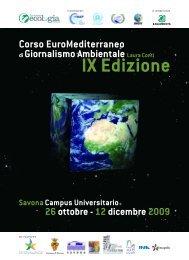 Programma 2009 - La Nuova Ecologia