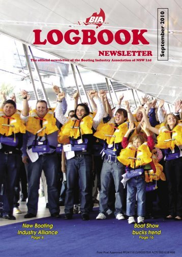 BIA Logbook Sept10-32 - Boating Industry Association of NSW