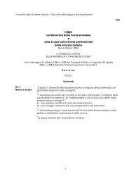 Legge sull'Università della Svizzera italiana e sulla Scuola ...