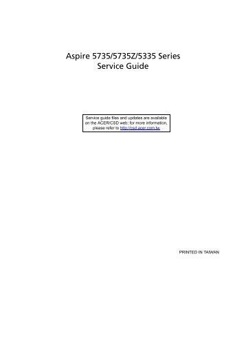 service guide acer aspire 7520 open source user manual u2022 rh dramatic varieties com Acer Aspire 7250 Specs Acer Aspire 7520 Motherboard