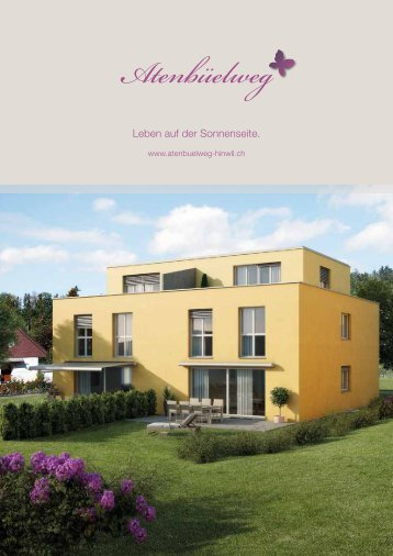 Verkaufsdokumentation Download - atenbuelweg-hinwil.ch