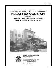 Senarai Semak Permohonan Bagi Pelan Bangunan - Negeri Sembilan