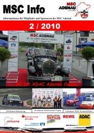 20.Int.ADAC Adenau Classic - MSC Adenau e. V.