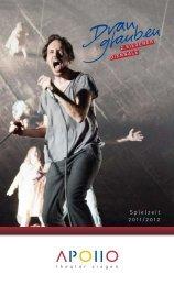Spielzeit 2011/2012 - APOLLO-Theater Siegen