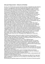 Bericht zum Hofturnier 2012 von Birgit Rohlfshagen