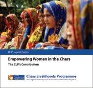 Women Empowerment - The Chars Livelihoods Programme