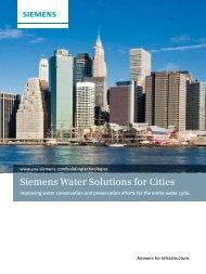 Water Brochure - Siemens