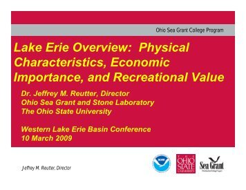 Jeff Reutter – Overview of the Lake Erie Resource - Western Lake ...