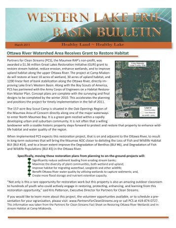 March 2011 - Western Lake Erie Basin Partnership