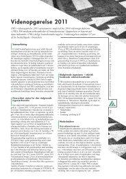 Videnopgørelse 2011 - Foreningen af Rådgivende Ingeniører F.R.I.
