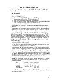 Verteilungspläne 2008_mit Änderungen Beiratssitzung 13.09 ... - GVL