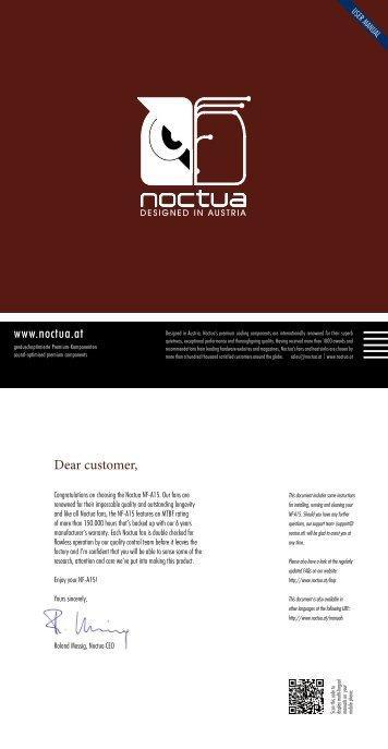 Installation Manual - Noctua.at