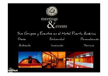 Brochure Eventos y Grupos (pdf) - Hoteles Silken