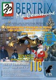 Revue Communale de Bertrix n° 116