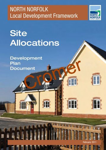 North Norfolk Site Allocations (Cromer) - North Norfolk District Council