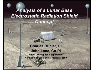 Charles Buhler - NASA's Institute for Advanced Concepts