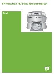 HP Photosmart 330 Series Benutzerhandbuch