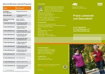 Praxis Lebensstil und Gesundheit - Klinikum  rechts der Isar - TUM