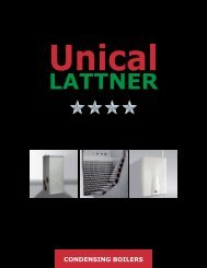 LATTNER - Unical Lattner Condensing Hot Water Boilers