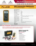 New Product Announcement 88V Automotive Multimeter - Toyota ... - Page 2