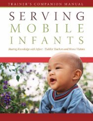0-3_Serving Mobile Infants - Head Start - U.S. Department of Health ...