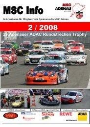 39.Adenauer ADAC Rundstrecken Trophy - MSC Adenau e. V.