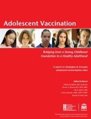 Adolescent Vaccination - pulse